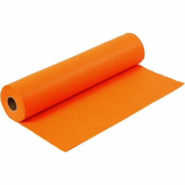 Narancssárga barkácsfilc - 5m