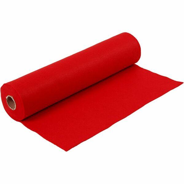 Piros barkácsfilc - 5m