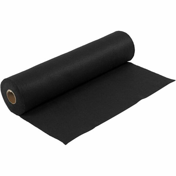 Fekete barkácsfilc - 5m