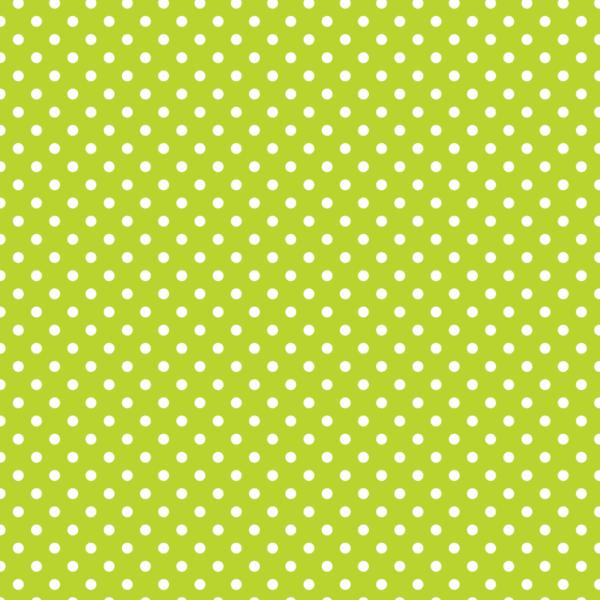 Mintás barkácsfilc méteráru - zöld alapon fehér pöttyös
