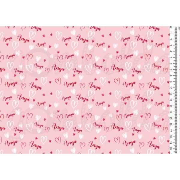 Mintás barkácsfilc - Anya feliratok rózsaszín alapon