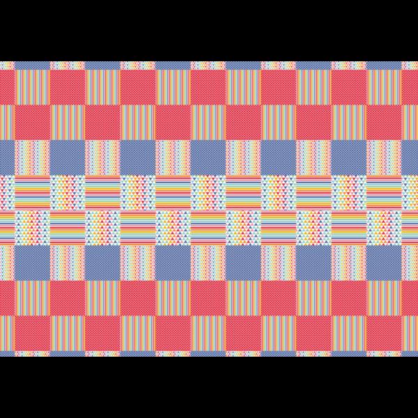 Mintás barkácsfilc - patchwork 071 - 5db vagy 10db